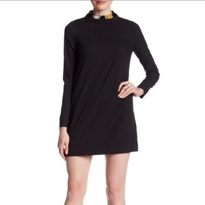 Maac London Muse Stone Collar Dress
